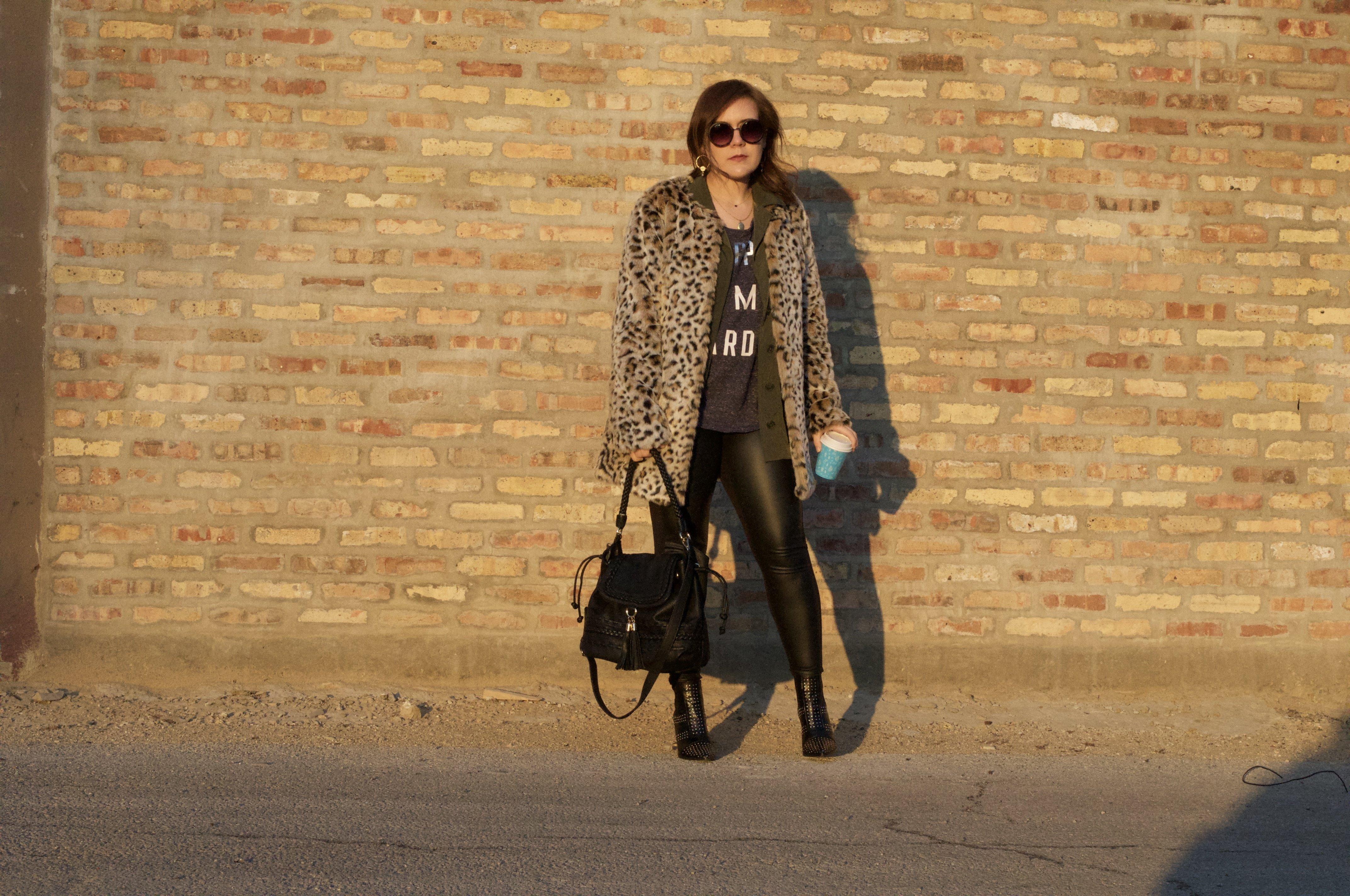 Luxe List - Leopard Print Coat