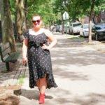 Polka Dot Dress - Red Boots