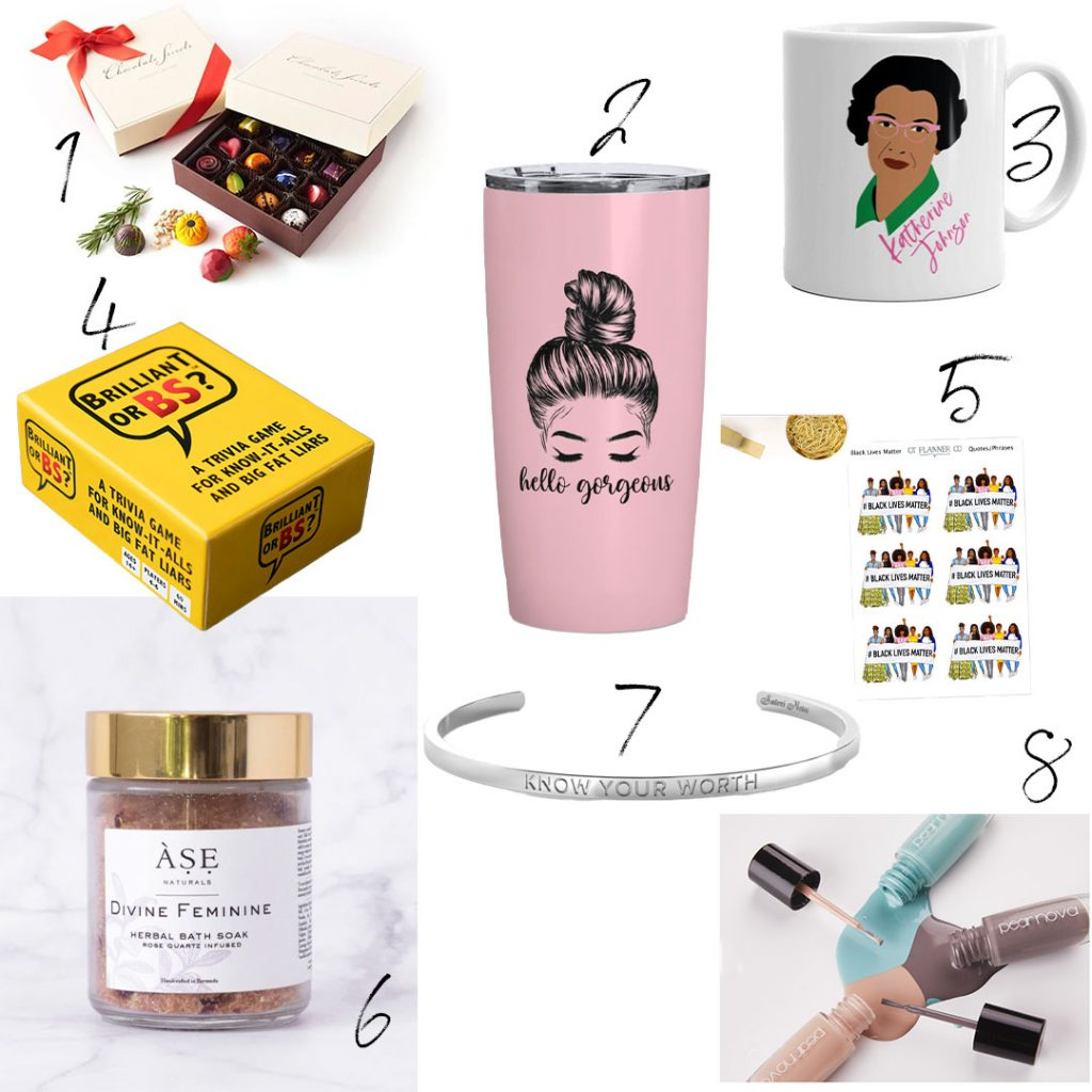 Black women owned products